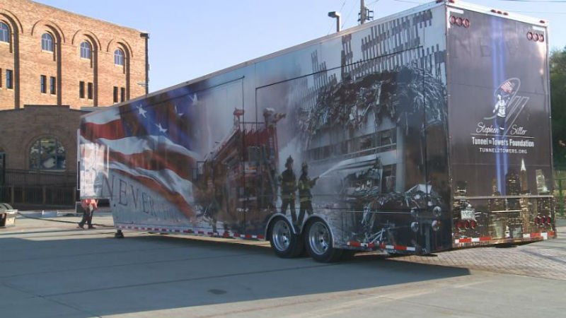 A mobile September 11, 2001 exhibit will be on display at the Hard Rock in Sioux City from May 5-11.