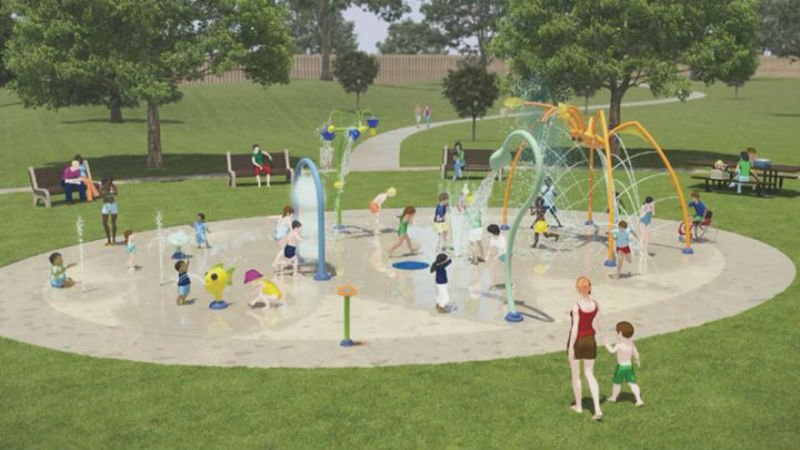 Sioux City's Parks and Recreation Department held a meeting to gather input for Cook Park splash pad.