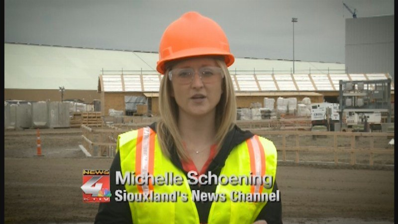 KTIV's Michelle Shoening gives you an inside look at the progress at the CF Industries Plant construction south of Sioux City.