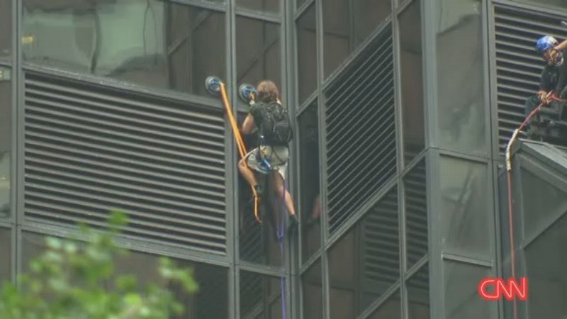 Man Who Climbed Trump Tower Faces Criminal Charges