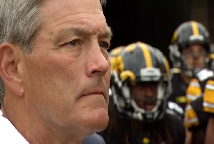 Iowa football coach Kirk Ferentz has signed a contract extension through 2026.