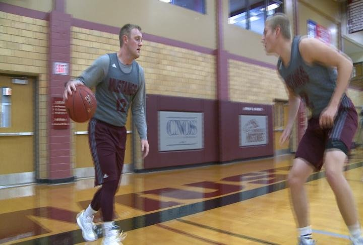 Ryan Tegtmeier led Morningside in scoring last season.