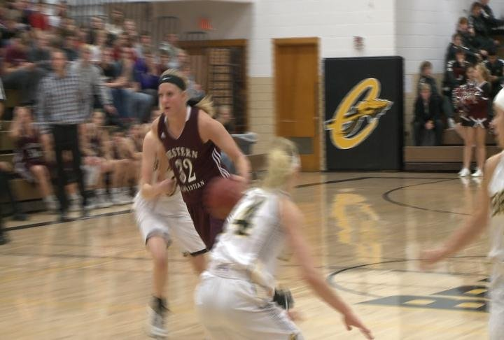 Western Christian handed Cherokee their first loss, 88-75, on Friday.