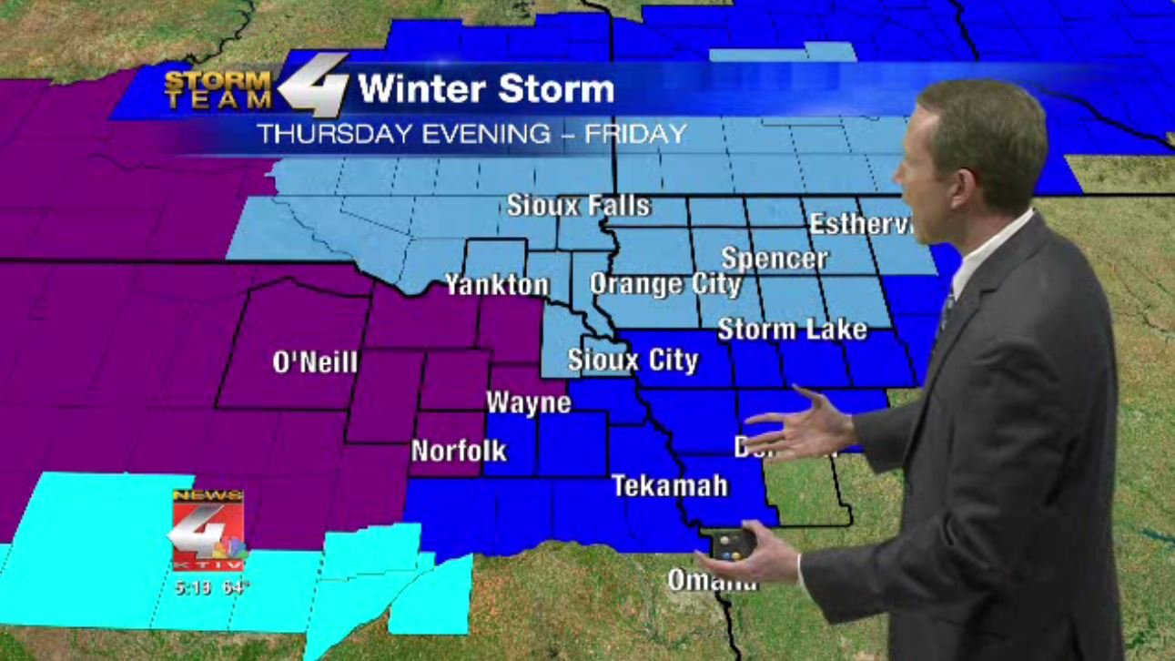 Platte County upgraded to winter storm warning