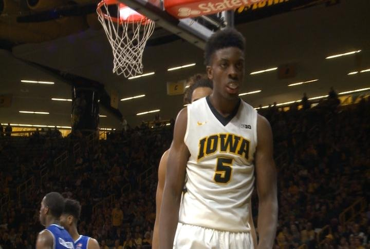 Tyler Cook is one of four starters returning for Iowa next season.