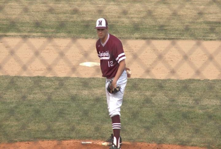 Jared Sorenson was the winning pitcher in Morningside's 6-1 win over York.