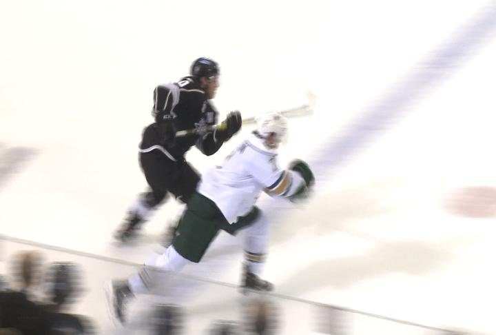 The Sioux City Musketeers lost in Fargo on Tuesday night, 6-1.