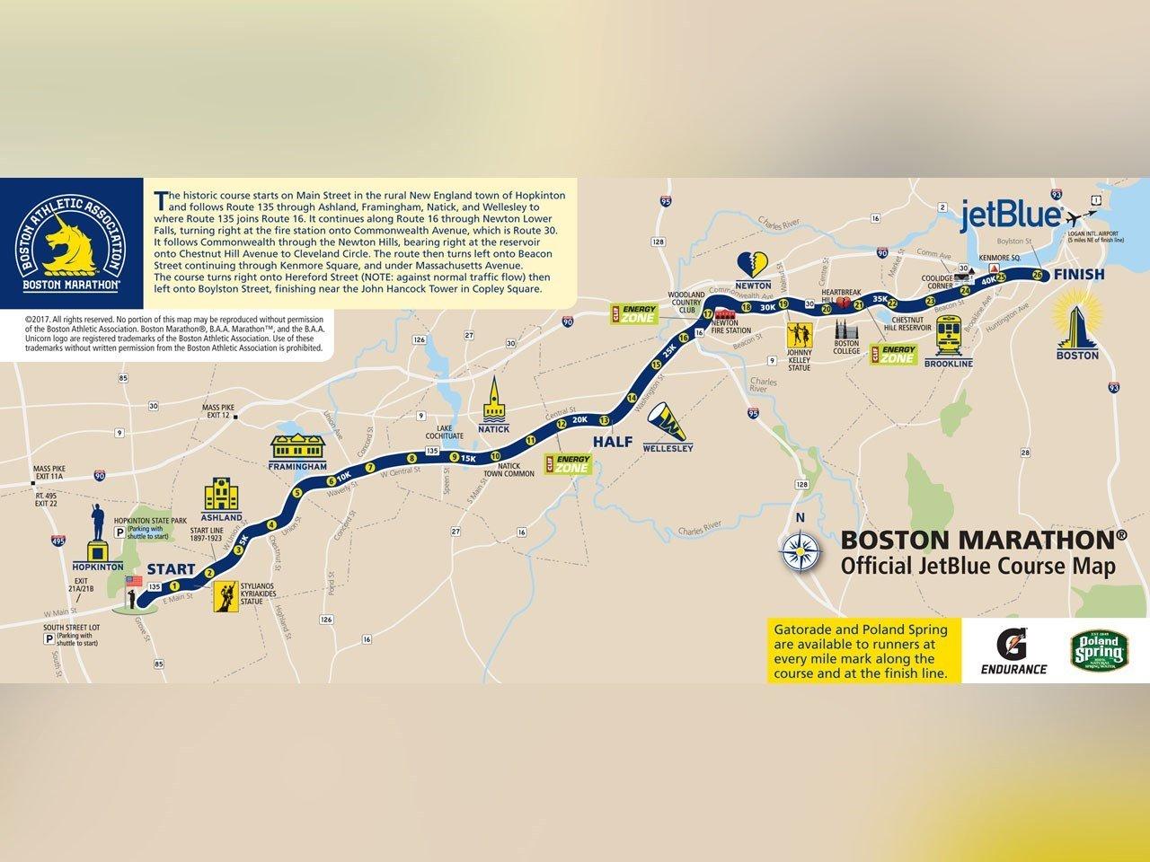 Boston Marathon's 1st Official Woman Contestant Runs After 50 Yrs