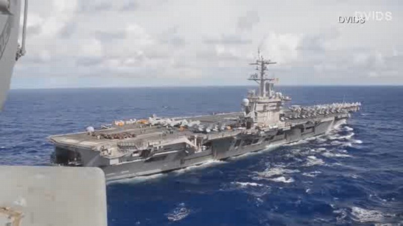 American Carrier Not Really Headed For North Korea After All