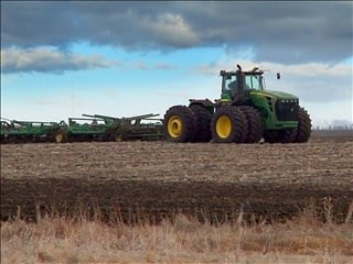 Corn and soybean planting has begun in South Dakota while small grain planting continues