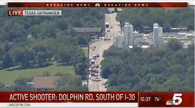 Dallas paramedic shot, taken to hospital for surgery