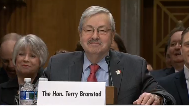 Senate Foreign Relations Committee Hearing on nomination of Terry Branstad to be U.S. ambassador to China.