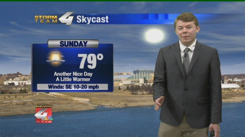 Weather: Cooler and Cloudy Sunday