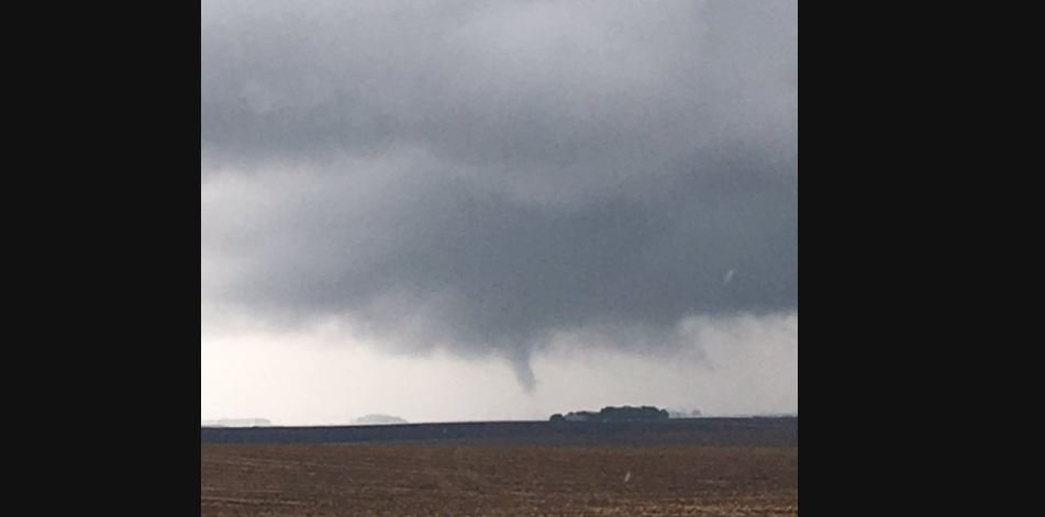 Photo Courtesy: Brock Moser - Taken near Granville, Iowa around 2 p.m.