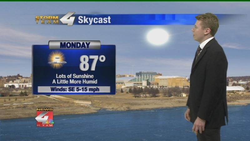 Seasonable Temperatures for Thursday