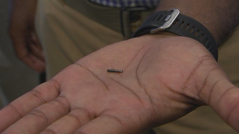 Wisconsin company holds microchip party for employees receiving implants