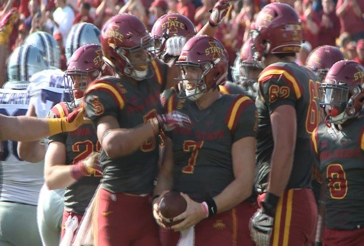Iowa State's Joel Lanning says everyone is 'on the same page' at Iowa State.