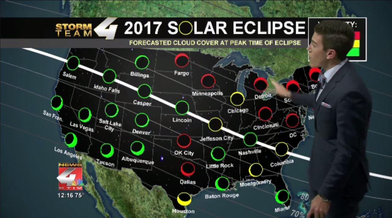 National Eclipse Forecast