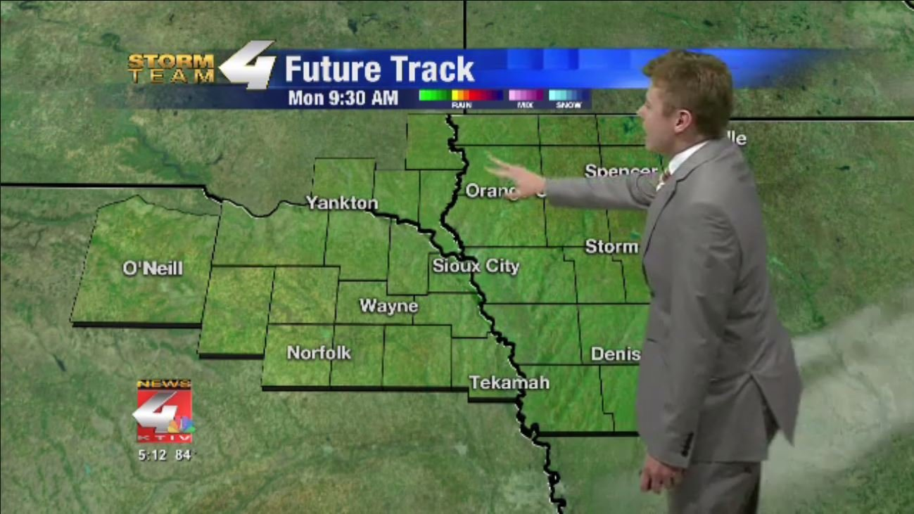 Rain clearing out for sunny Labor Day