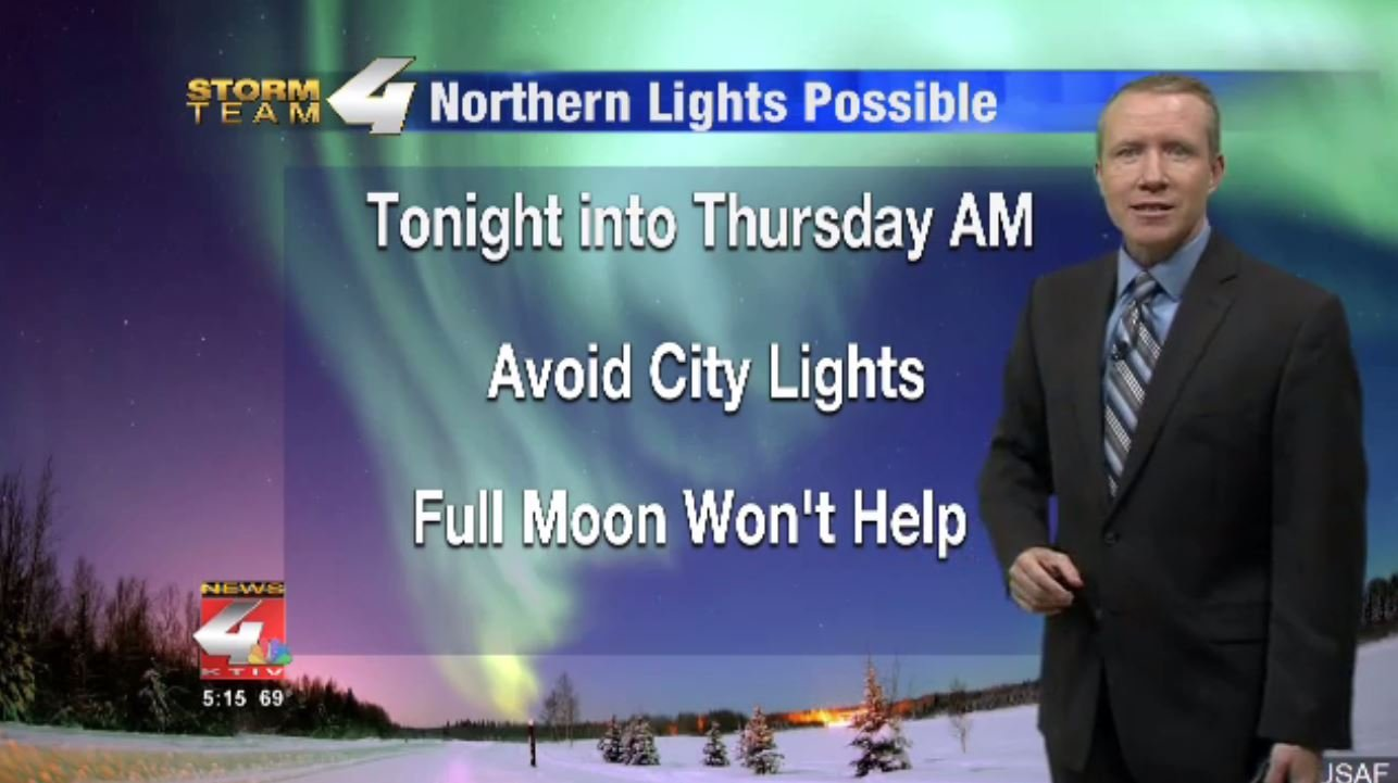 Hoosiers among those who may witness Northern Lights Wednesday night