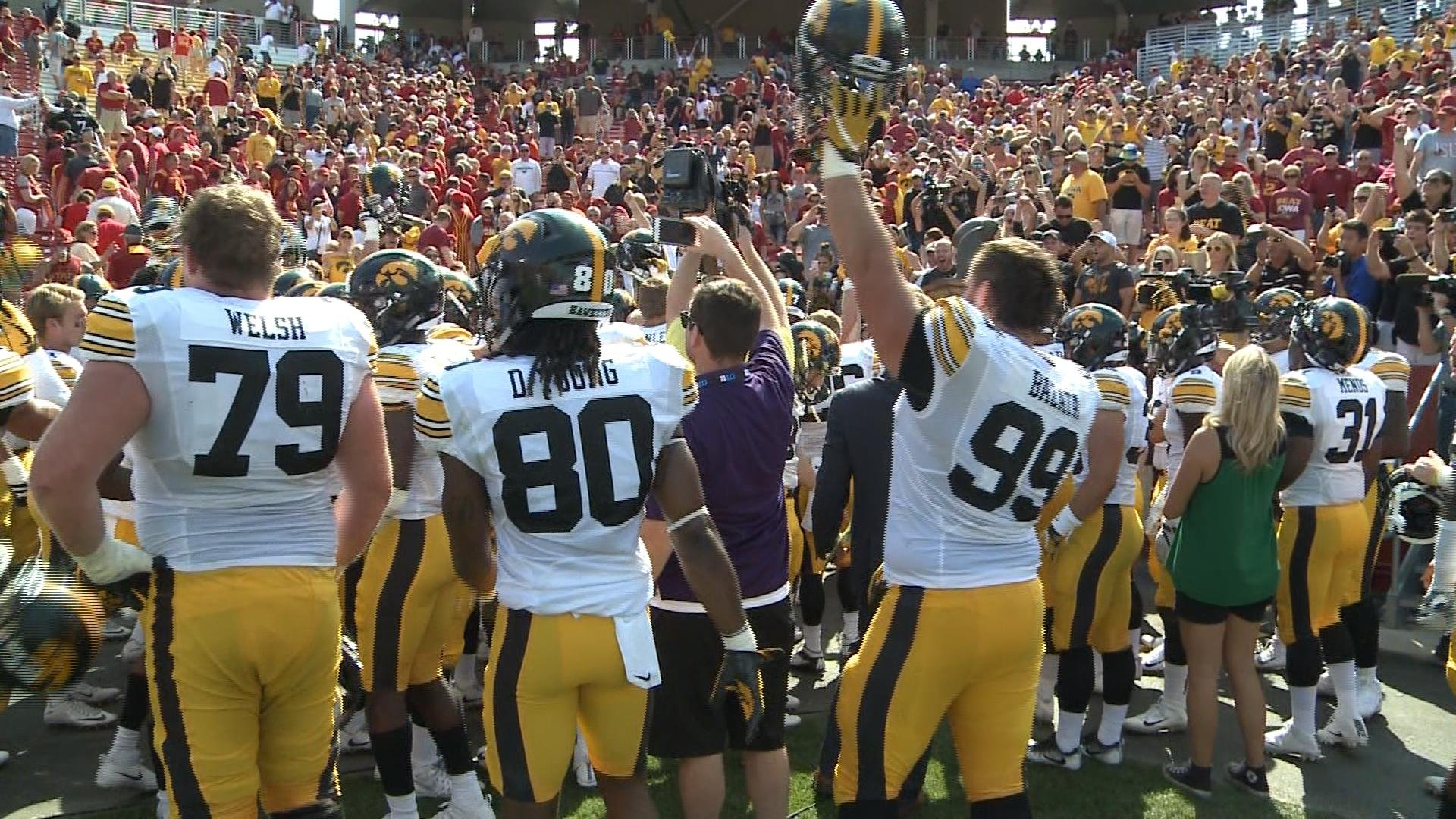 Hawkeyes Down Cyclones in Wild Overtime Game