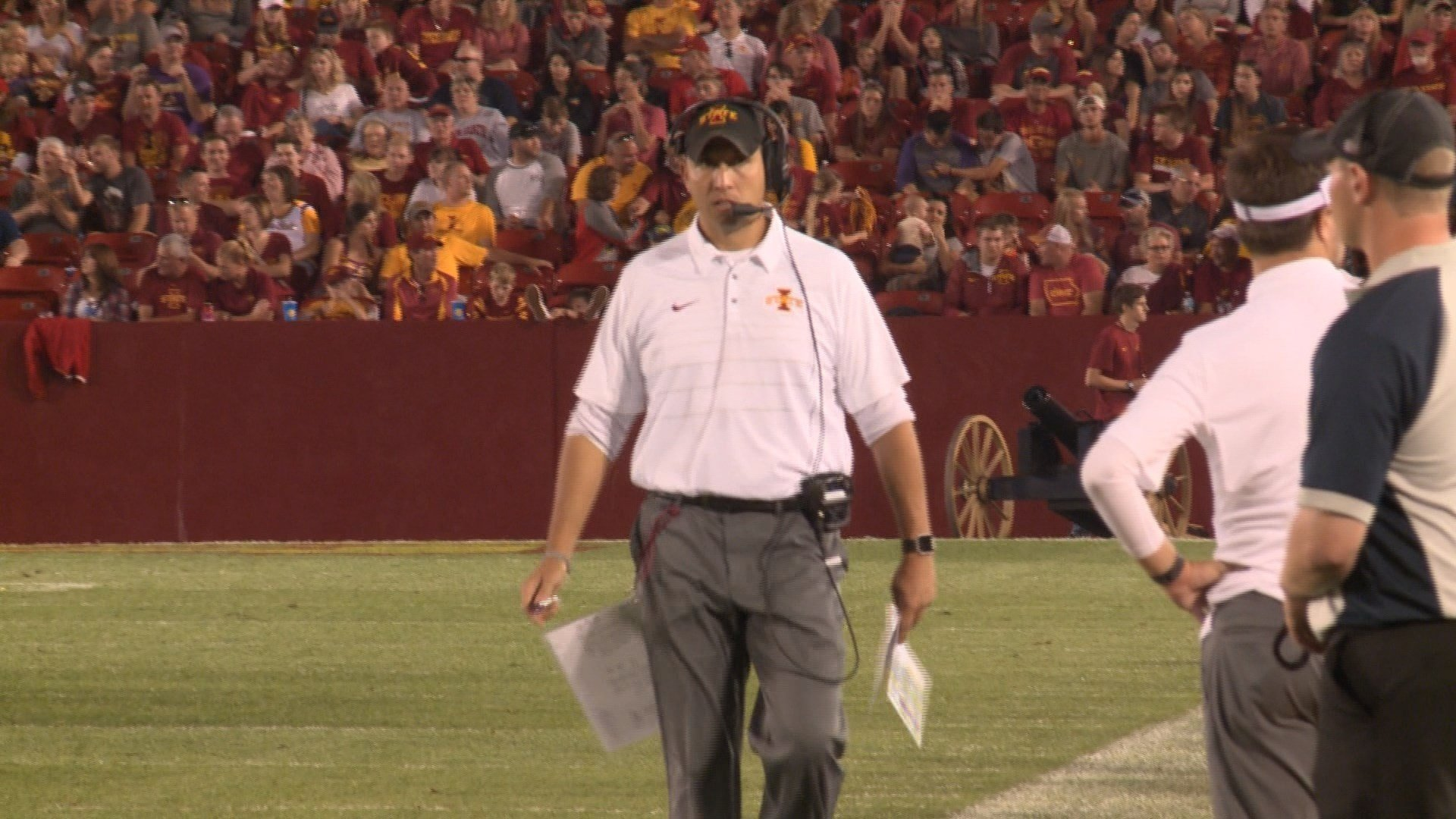 Iowa State head coach Matt Campbell will make a return to Ohio when the Cyclones visit Akron on Saturday.