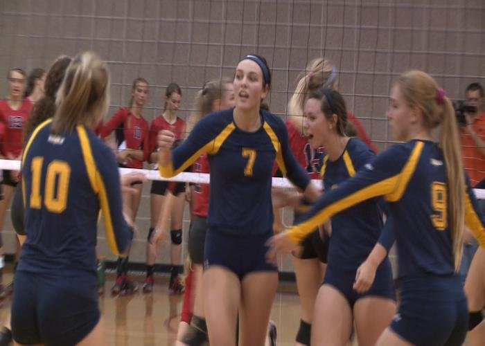 Jade Schaap set a Buena Vista record with 29 kills in a 3-1 win over Grinnell.