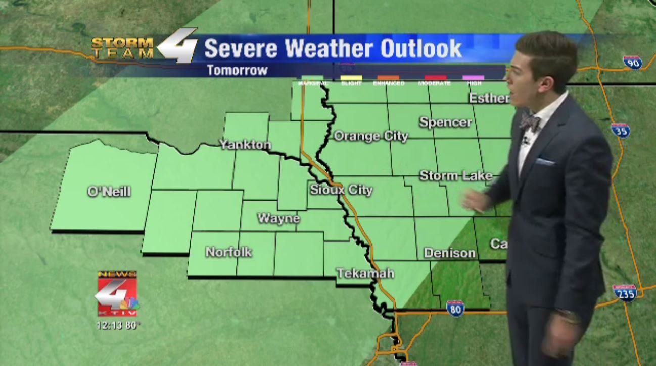 Severe Weather Risk for Friday