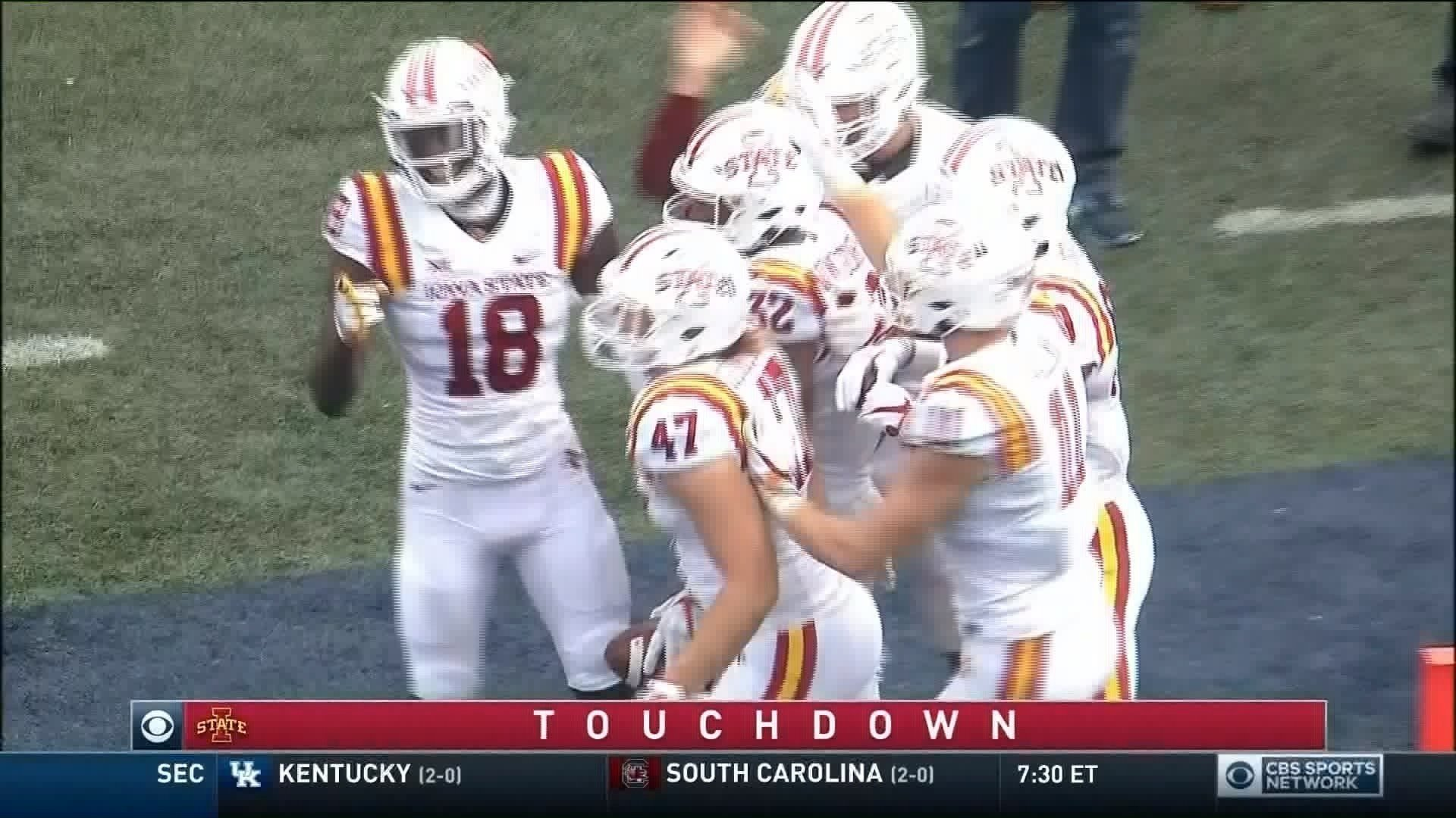 Iowa State beat Akron on Saturday, 41-14.