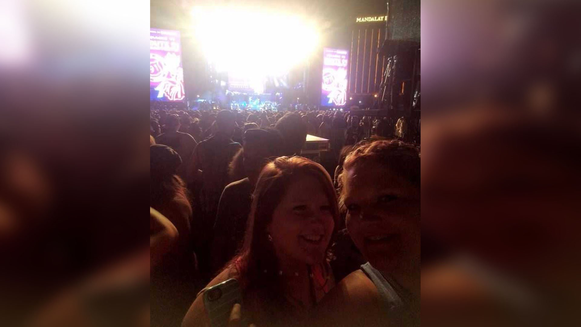 Photo Courtesy: Katie Burgett. Burgett was at the concert when the Las Vegas shooting happened.