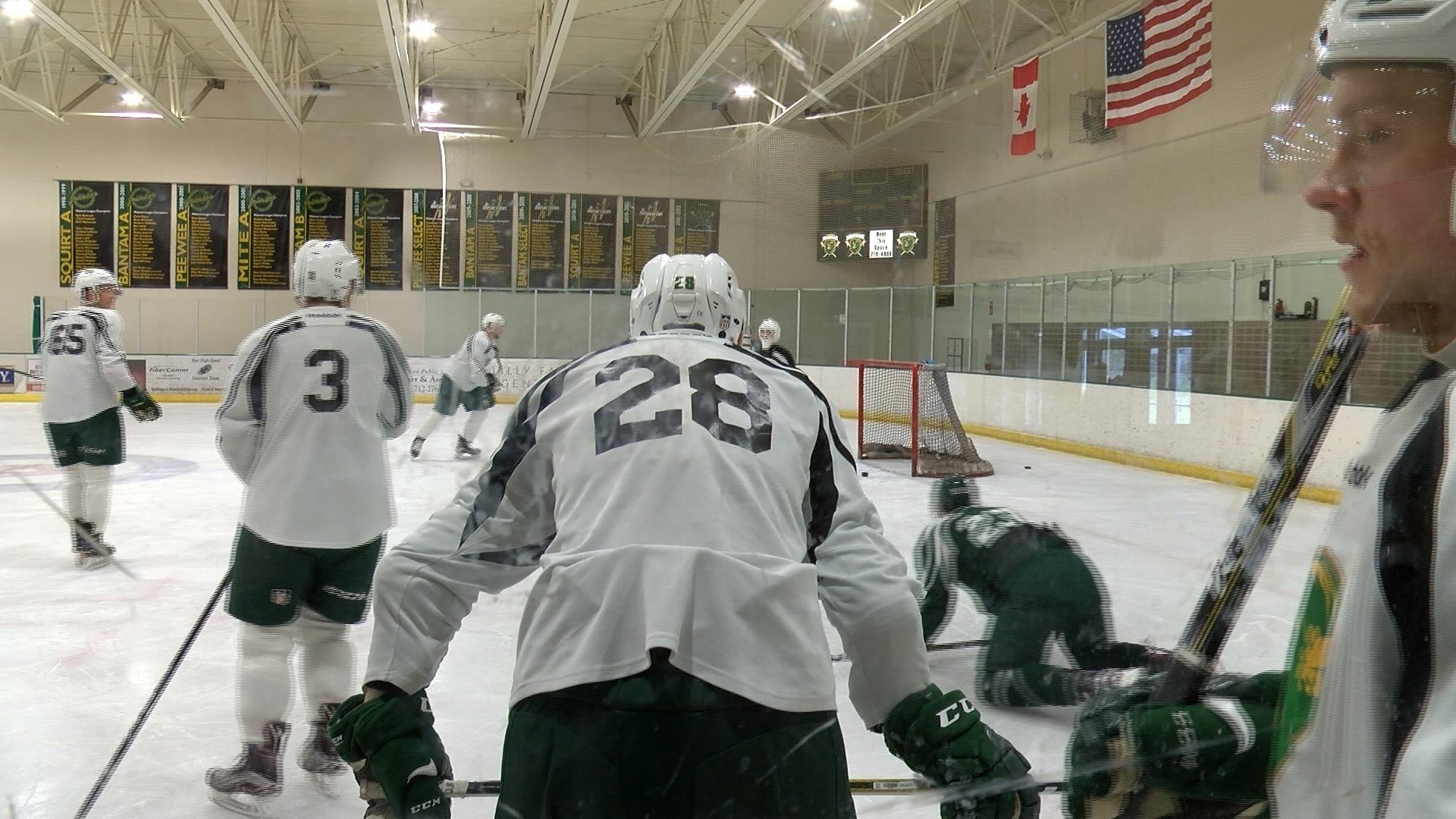 The USHL's deadline for final roster cut-downs was 6:00 p.m. on Tuesday.
