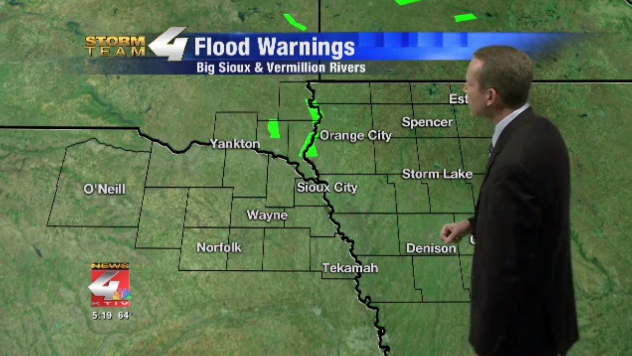 Siouxland Flood Warnings