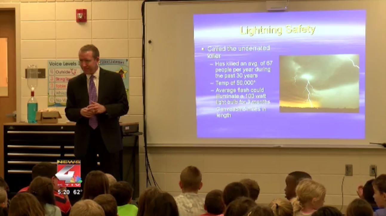 Perry Creek Elementary Weather Talk
