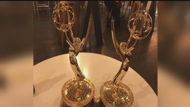 KTIV receives two Upper Midwest Emmys.
