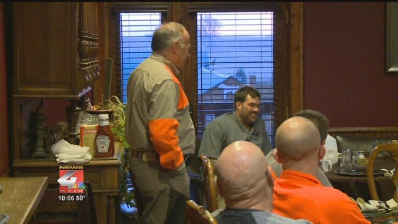 Archive photo from Congressman Steve King's 2016 pheasant hunt.