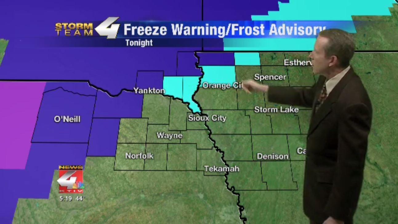 Freeze Warning/Frost Advisory