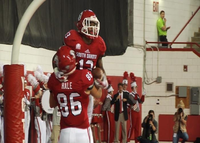 South Dakota is fourth in this week's FCS Coaches Poll.