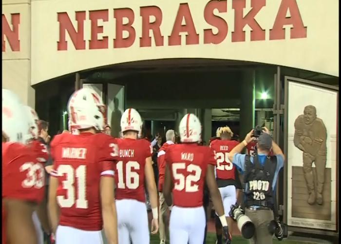 Nebrska is a 24-point underdog against Ohio State on Saturday.
