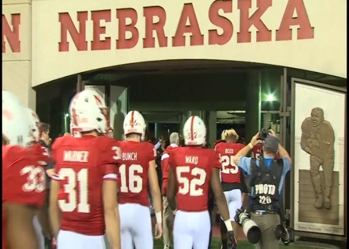Nebrska is a 24-point underdog against Ohio State on Saturday.