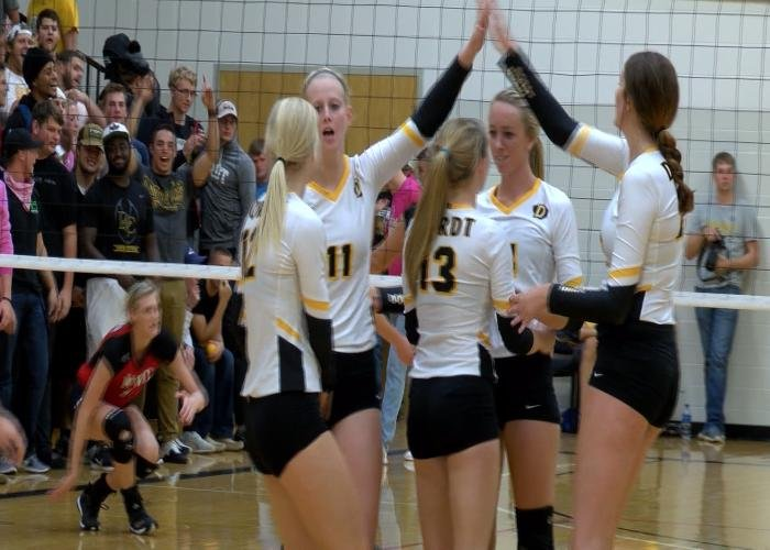 Dordt beat Northwestern, 3-1, on Wednesday night in Sioux Center, Iowa.