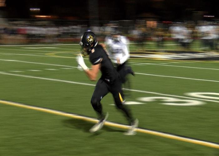 Sam Wegner scored Wayne State's only touchdown in a 31-7 loss to Sioux Falls.