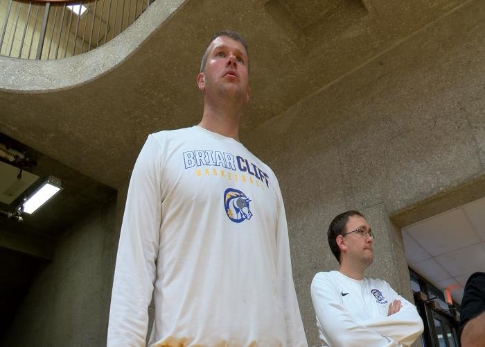 Mark Svagera is Briar Cliff's new head coach, taking over for Nic Nelson, who became the school's Athletic Director.