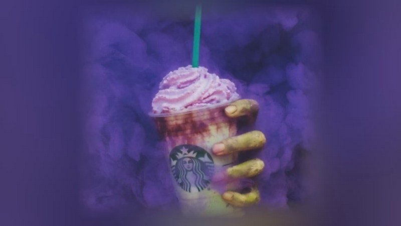 Starbucks rolls out bright green Zombie Frappuccinos for Halloween