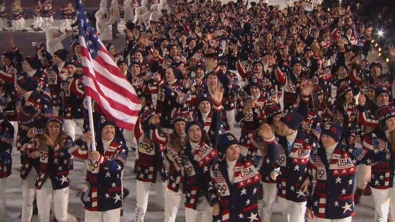 The Winter Olympics Opening Ceremony is February 9, 2018.