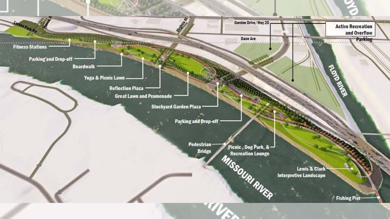 Photo Courtesy: City of Sioux City Parks and Rec Department: Riverfront Development Project