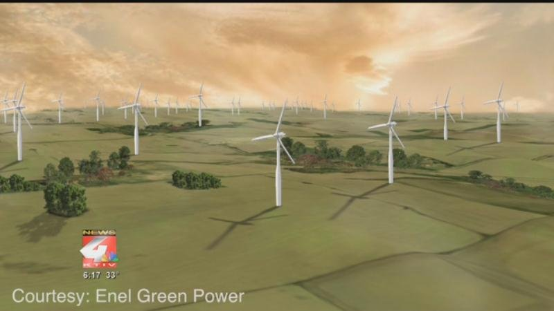 Enel begins construction of 320MW wind project in US