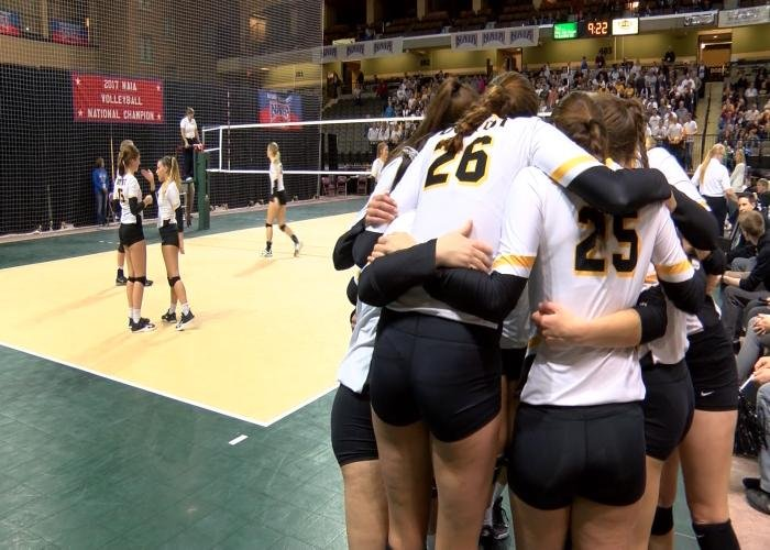 Dordt beat Westmont, 3-0, late Friday night in Sioux City.