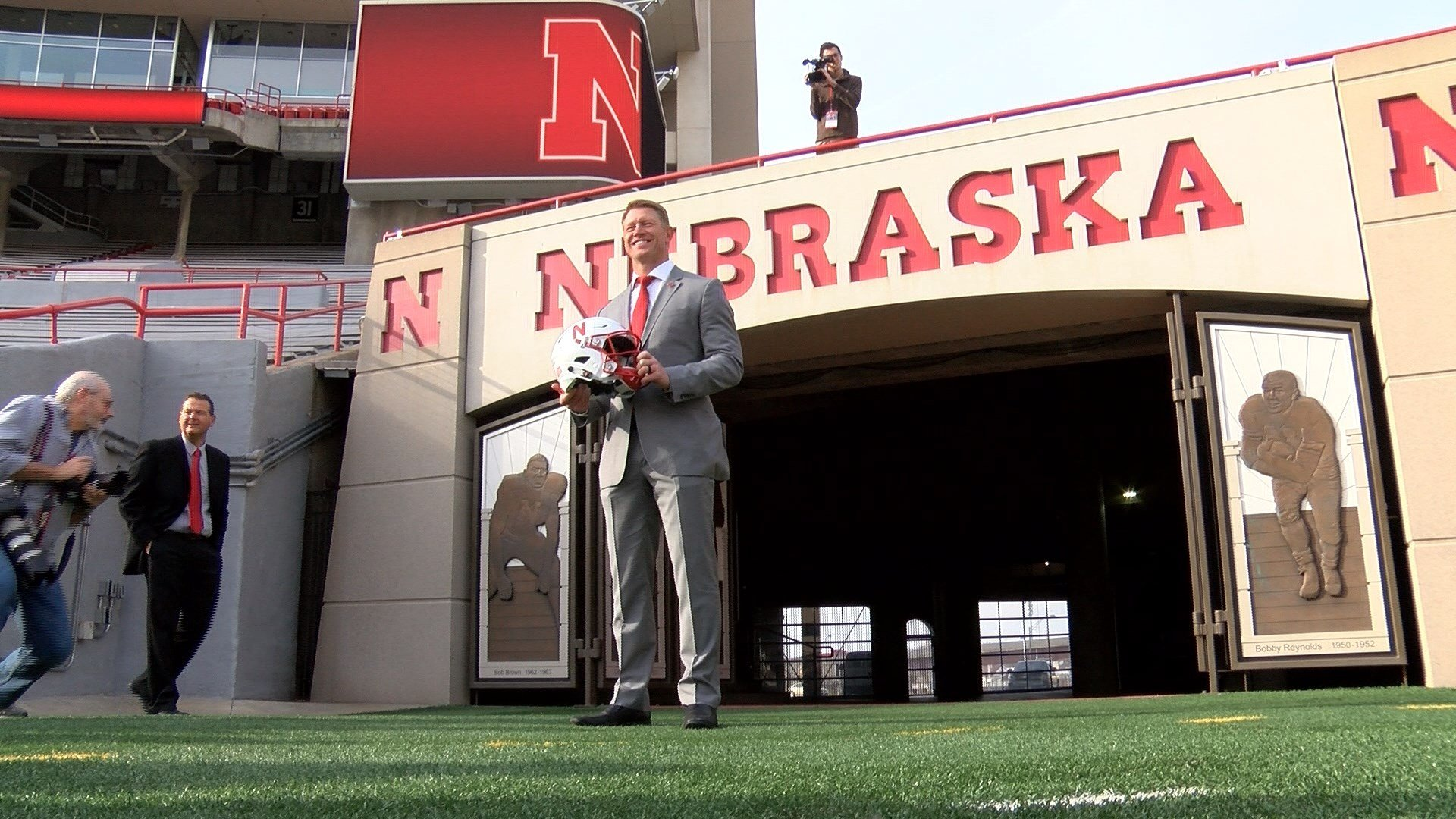 Nebraska native Scott Frost takes over the Husker football program.
