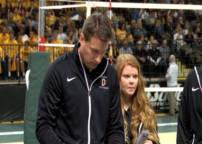 Dordt's Chad Hanson is the NAIA Volleyball Coach of the Year.