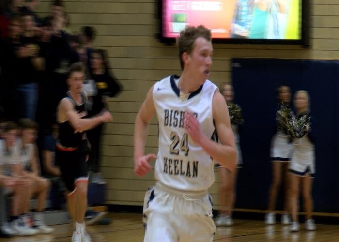 Bishop Heelan opened their season with a 61-57 win over Sgt. Bluff-Luton.